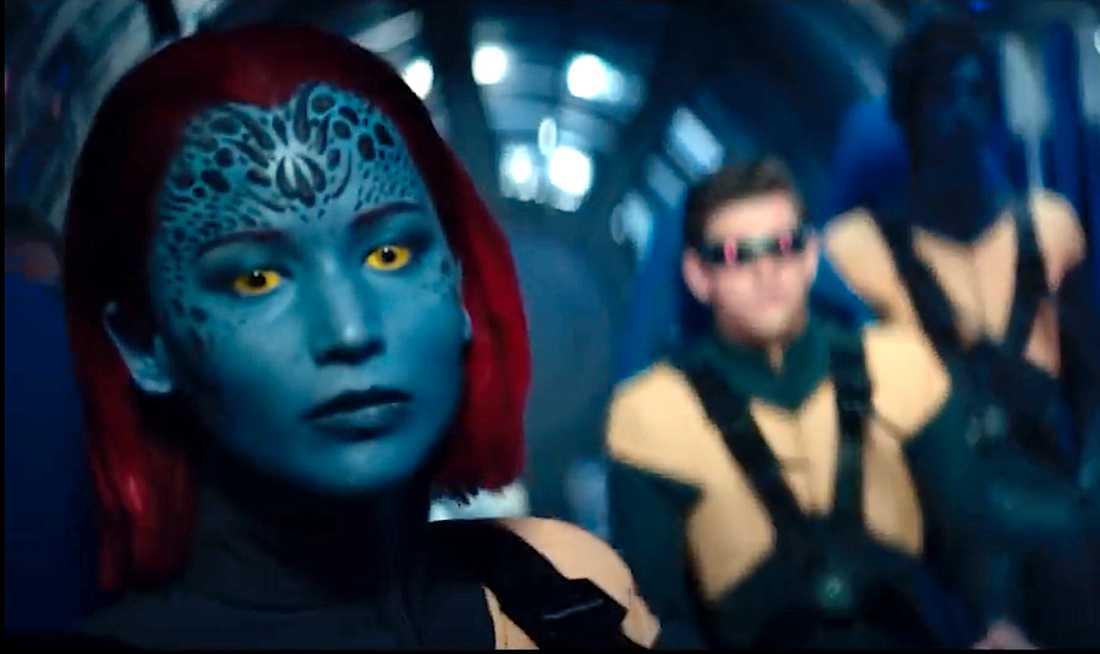Jennifer Lawrence som Mystique.