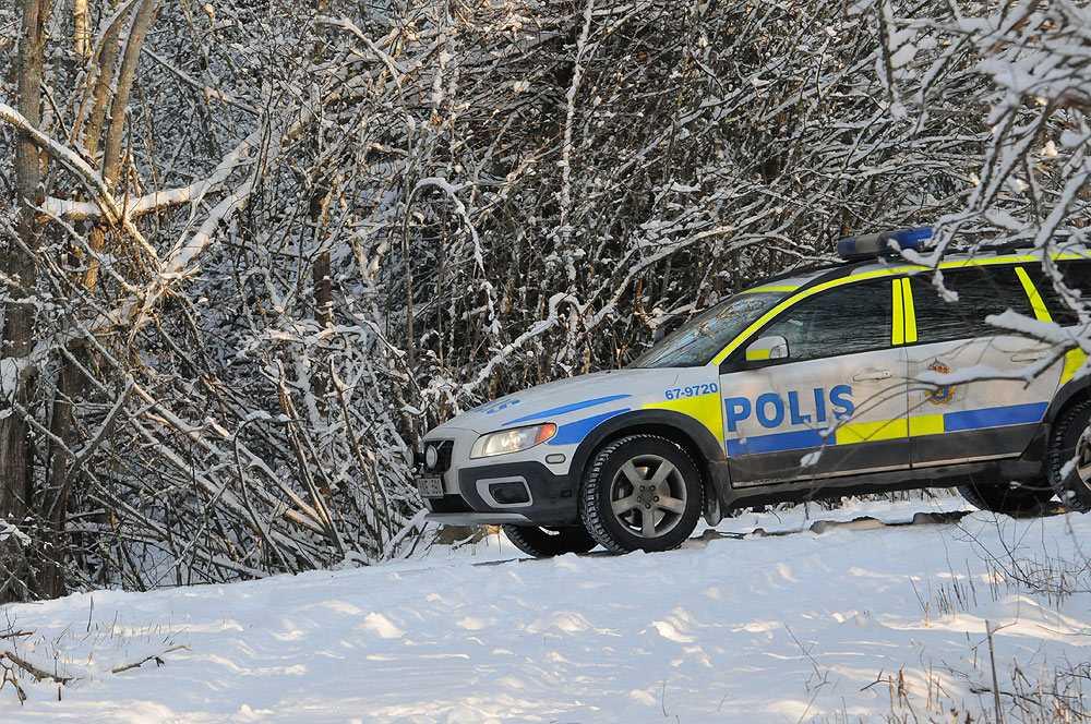 Kvinnan har uppgett att hon fördes till Bergundaskogen söder om Växjö