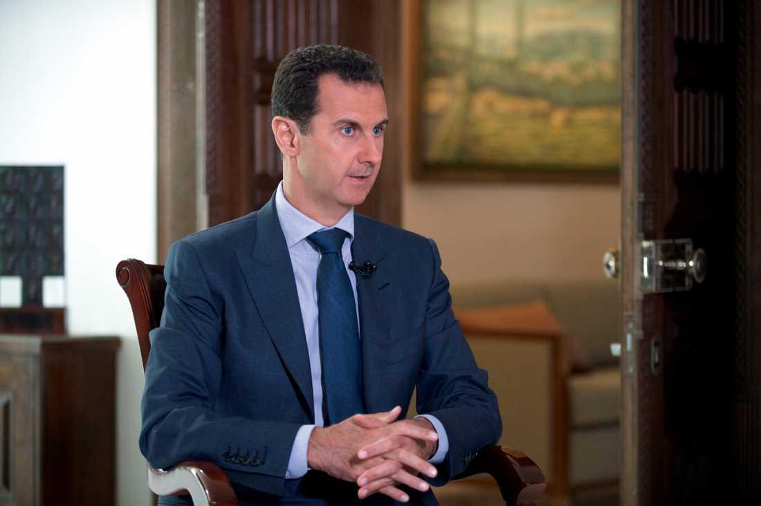 Syriens ledare Bashar-al Assad.