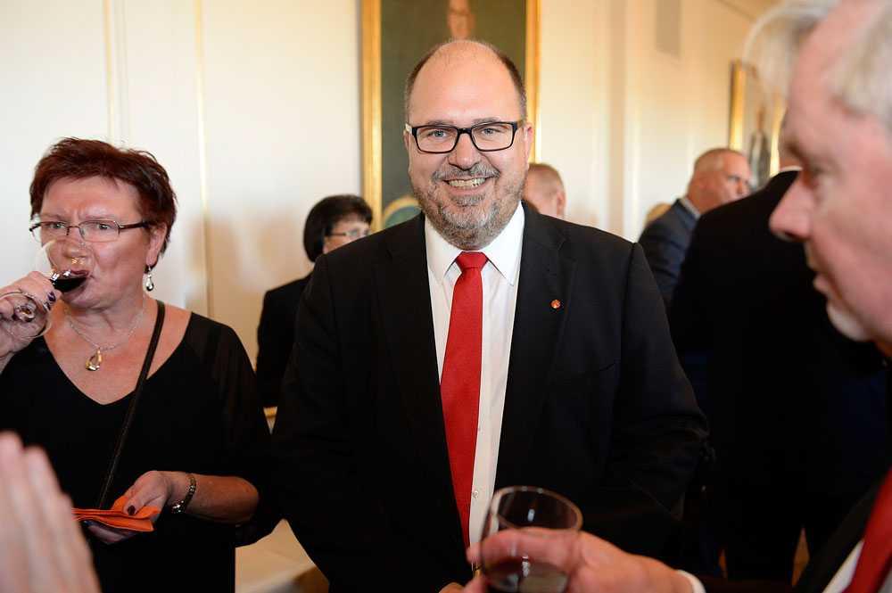 Karl-Petter Thorwaldsson, ordförande Sverige LO, ställer hårda krav på Löfven inför vårens ändringsbudget.