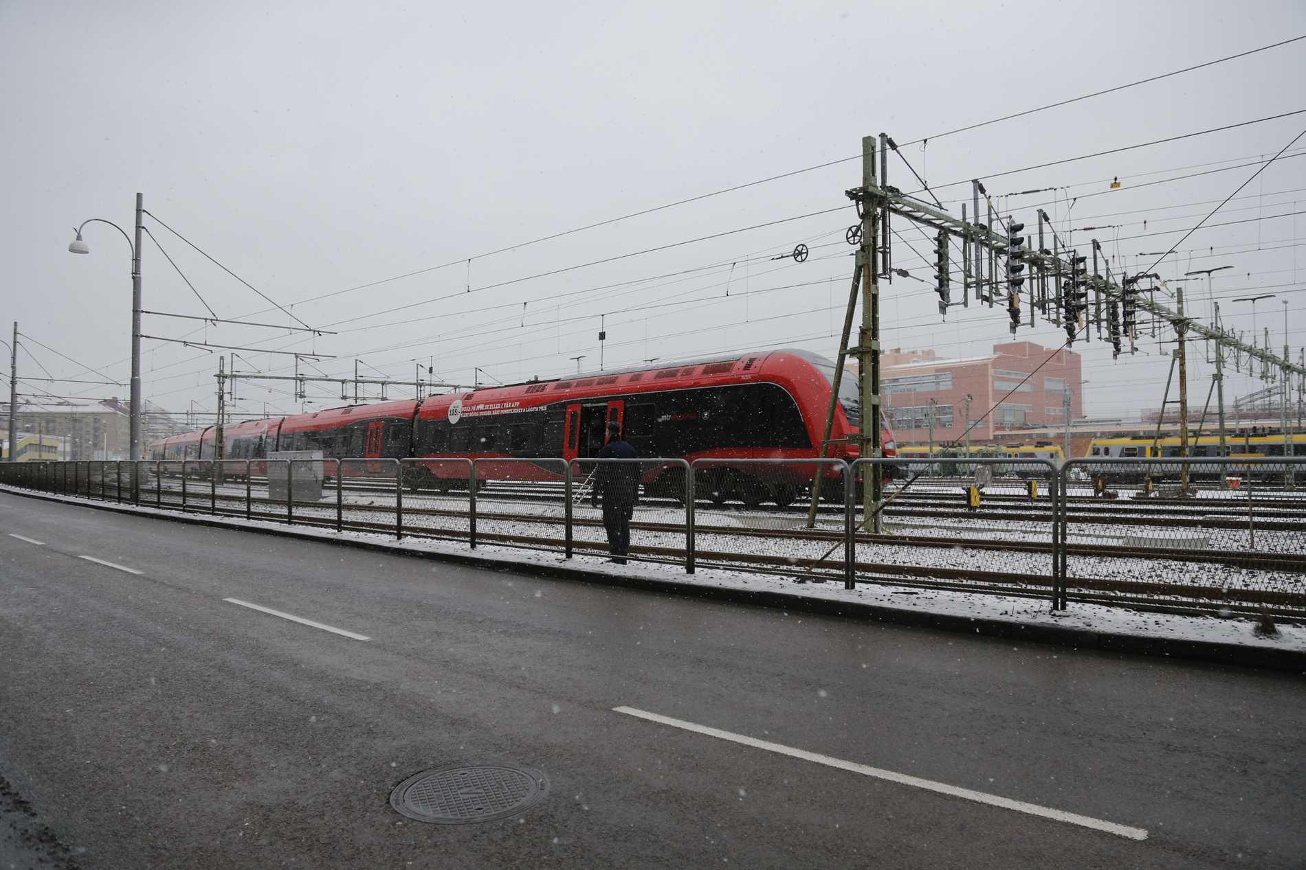 Det är oklart hur höghastighetsbanan mellan Göteborg och Borås ska finansieras. Arkivbild.