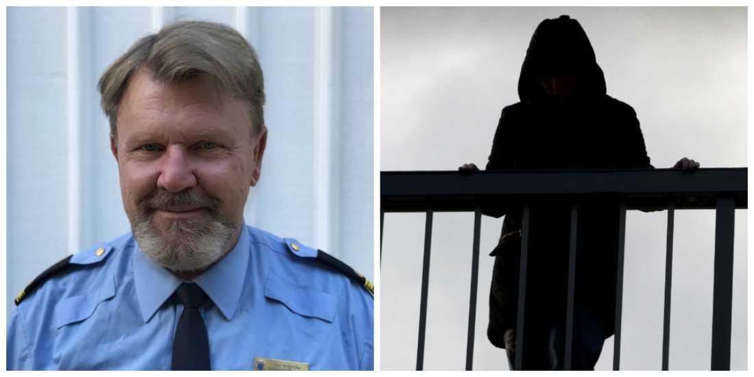 Ulf Boström vill lyfta samtalet om mental ohälsa. (Fotot till höger är en exempelbild)