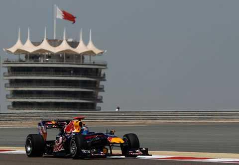 Sebastian Vettel tar pole position inför morgondagens race efter ett mästerligt kval.