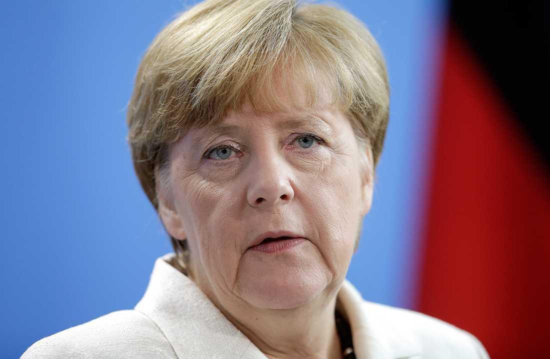 Angela Merkel, förbundskansler, Tyskland.