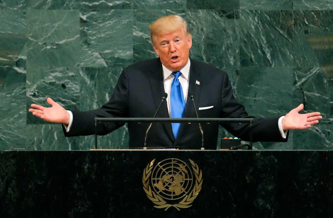 Donald Trump i FN.