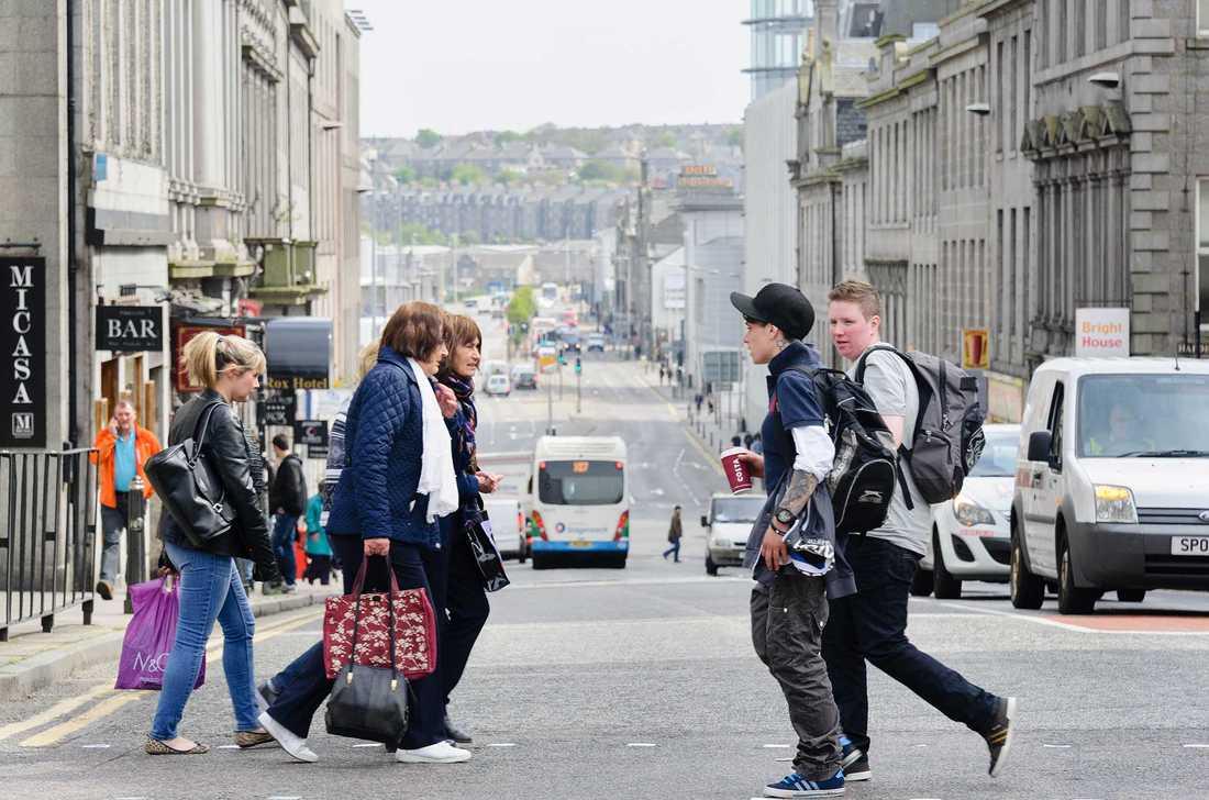 Vill stanna i EU I skotska Aberdeen är den stad i Storbritannien där stödet för att stanna i EU är störst, enligt undersökningsinstitutet You gov.