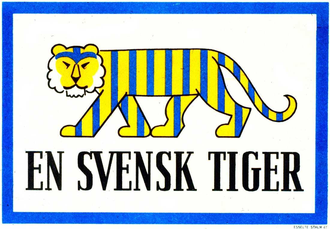 Den segdragna tvisten om vem som egentligen äger rättigheterna till den gamla skylten En svensk tiger är äntligen klar.