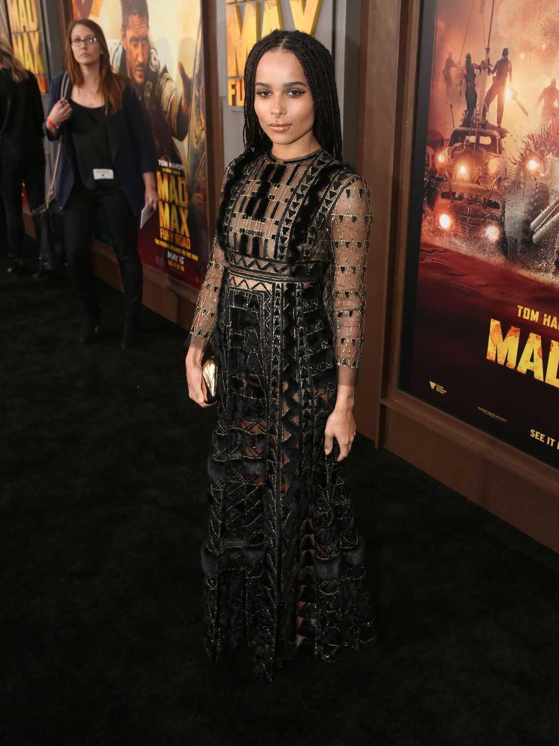 Zoe Kravitz är skådespelare och sångerska.