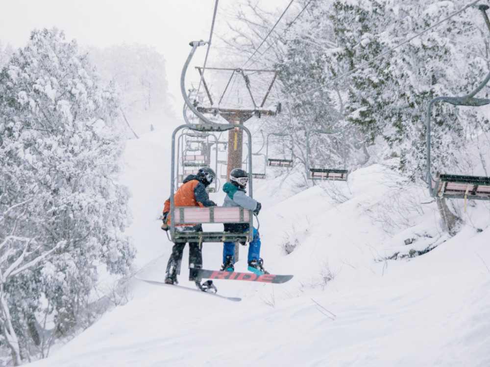 Skidåkning i södra Sverige