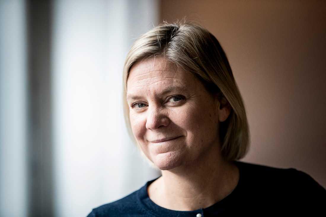Finansminister Magdalena Andersson (S). Arkivbild