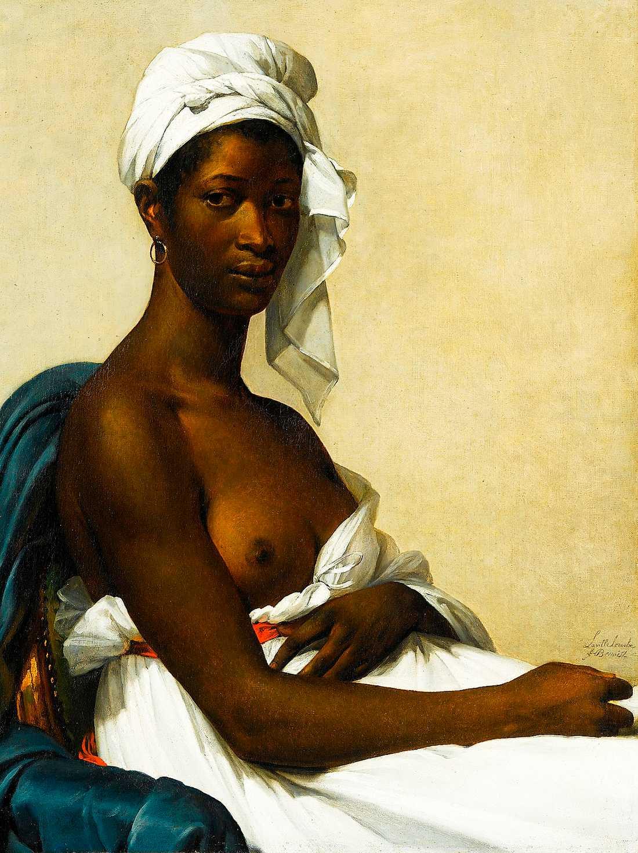 """Marie Guillemine Benoist (1768–1826), """"Portrait de Madeleine"""", 1800."""