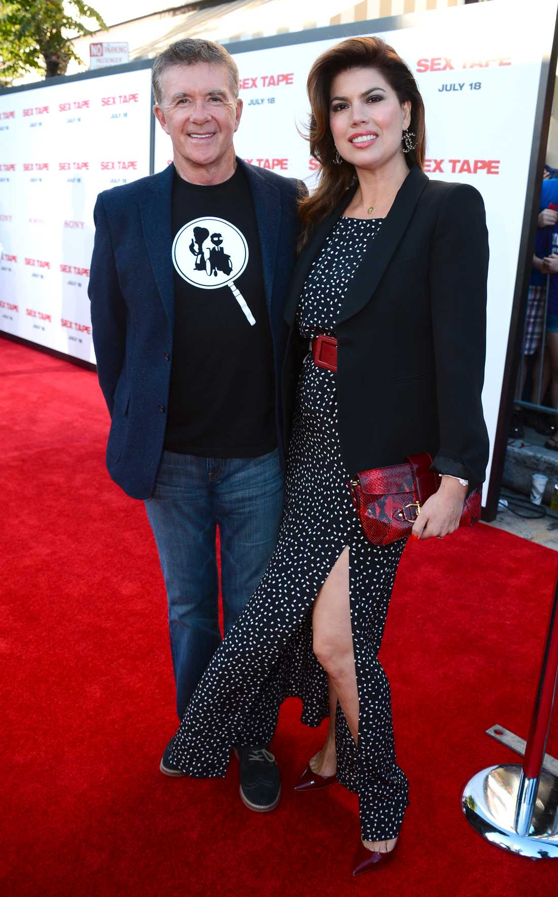 Alan Thicke och Tanya Callau