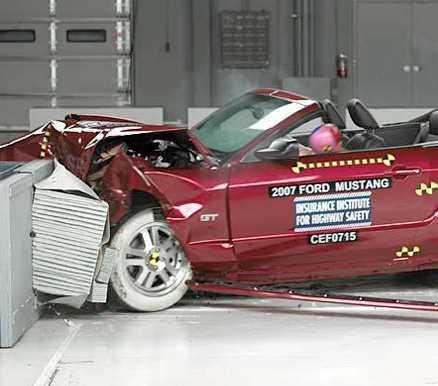 Ford Mustang Utan antisladd!