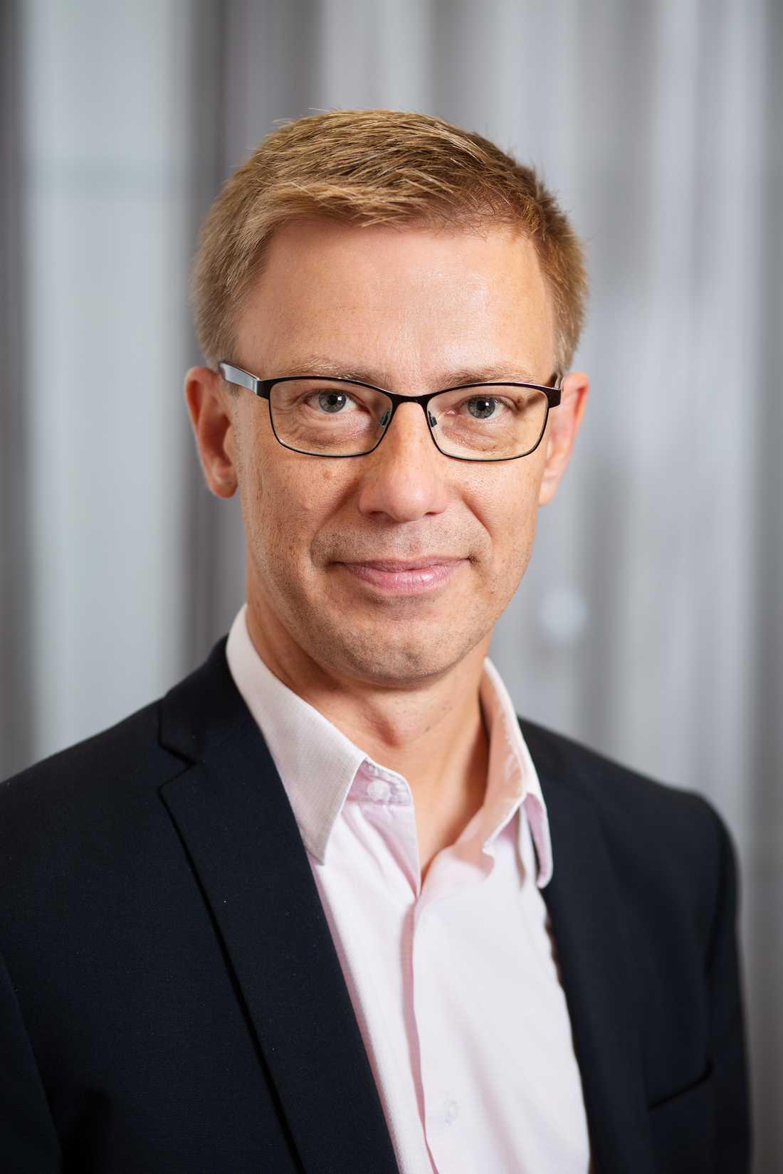 Fredrik Löndahl, chefsrådman.