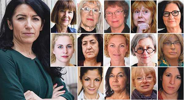 14 profiler i kvinnorättsrörelsen går nu ut med sitt stöd för Amineh Kakabaveh som har blivit petad från Vänsterpartiets riksdagslista till nästa års val.