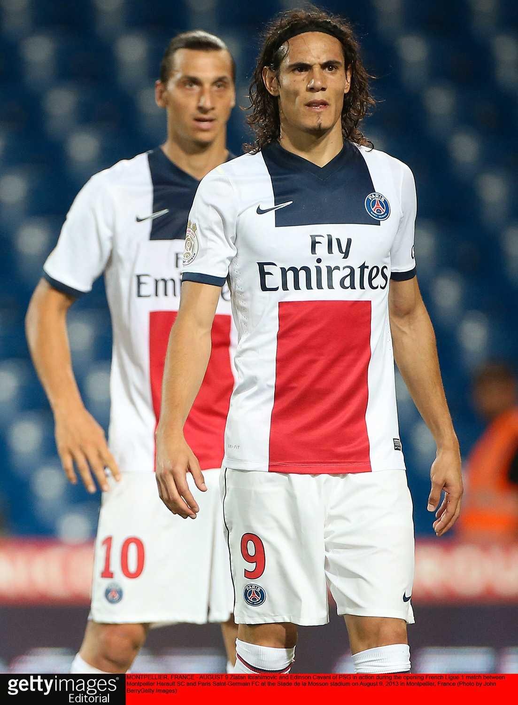 Cavani får fortsätta försöka klara sig utan Zlatan.