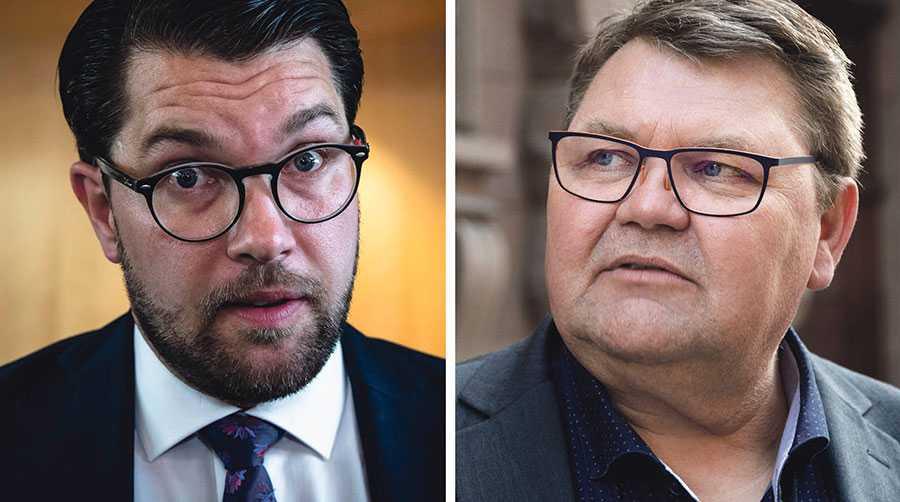 Det är rimligt och brådskande att EU mobiliserar för att lösa säkerhetshotet med illegala migranter. SD föreslår därför ett åtgärdspaket för att EU – på begäran av en medlemsstat – ska kunna ta över det fulla ansvaret för utvisningar, skriver Jimmie Åkesson och Peter Lundgren.