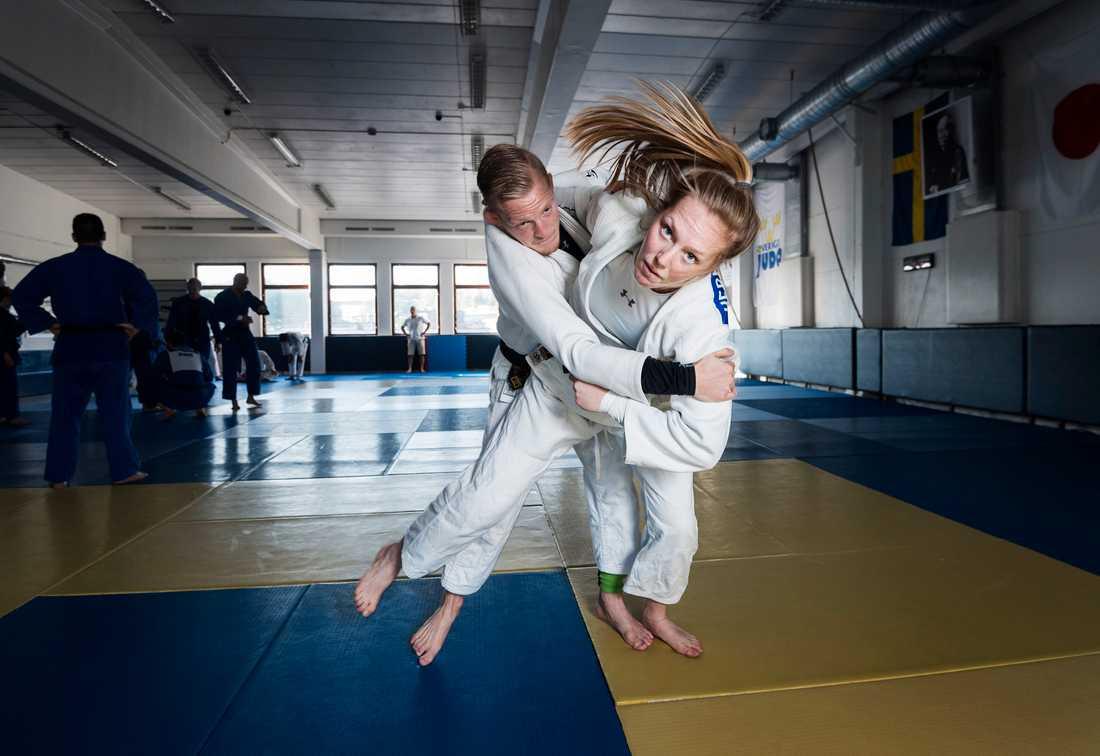 Mia Hermansson siktar på att ta medalj i sommarens OS.