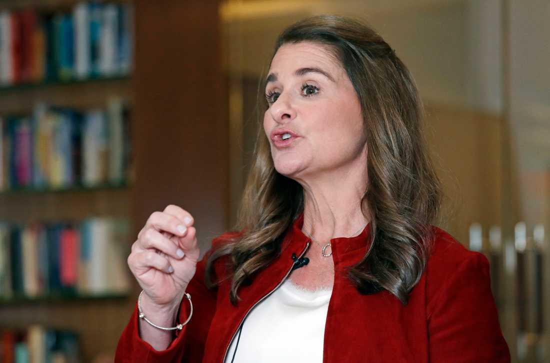 Melinda Gates. Arkivbild.