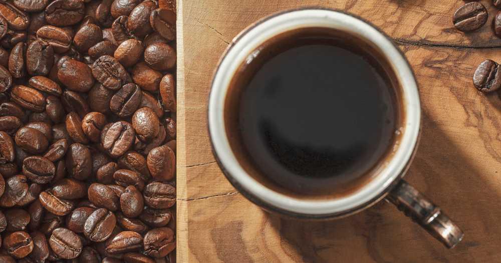 Kaffe – älskad het dryck.