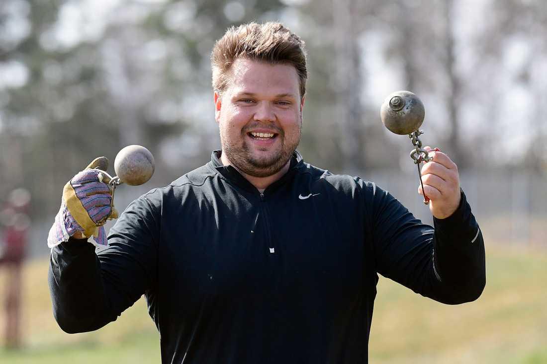 """""""Jag kör på som vanligt, stenhårt"""", säger Daniel Ståhl."""