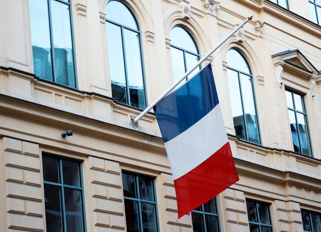 Franska ambassaden i Stockholm.