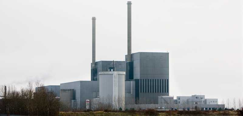Reaktorn i Barsebäck.