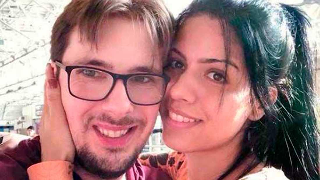 Colt Johnson och Larissa Dos Santos Lima.