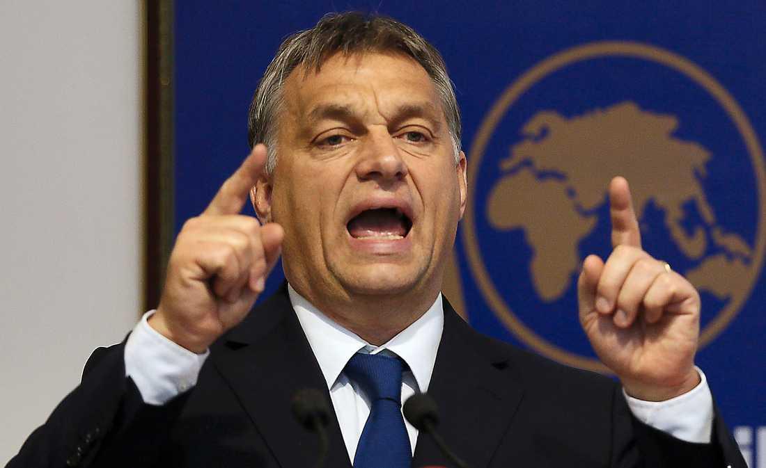Viktor Orbán, premiärminister och ledare för nationalistiska partiet Fidesz. Foto: AP