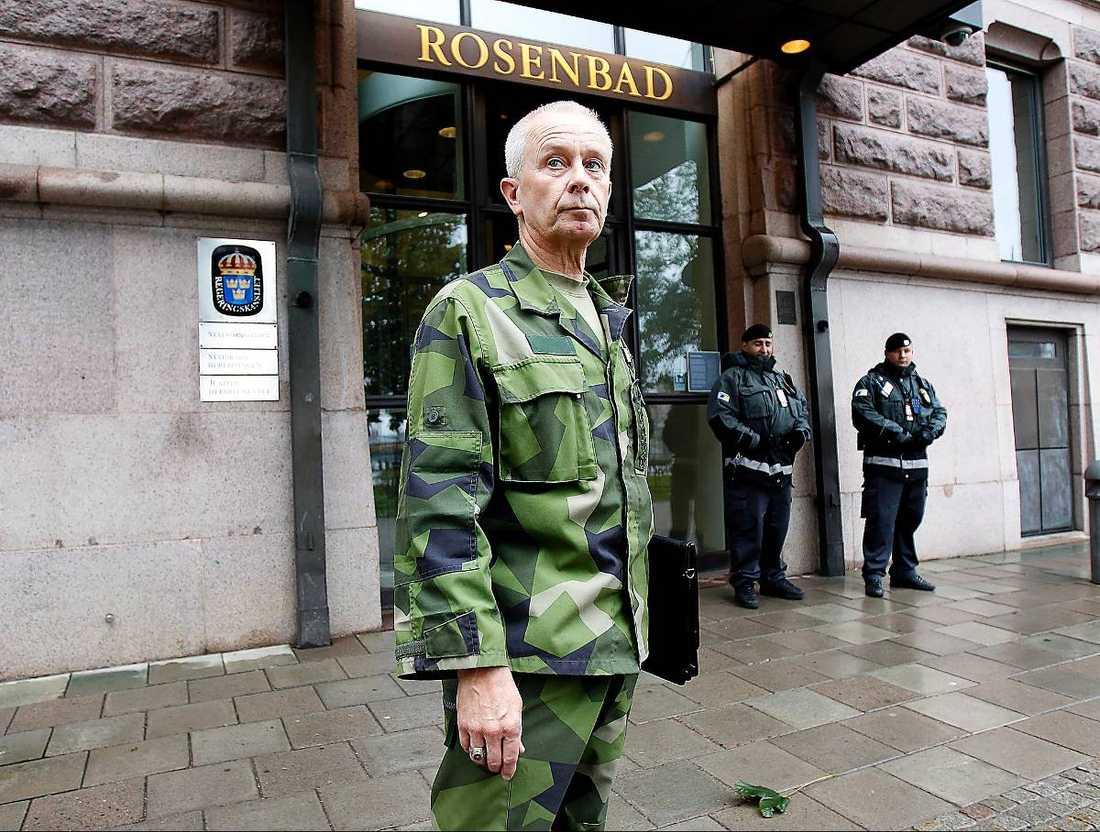 Sverker Göransson var inte glad