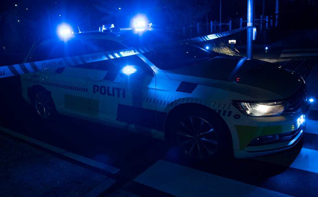 Polisen utreder vad som orsakade nattens smäll på Nørrebro. Arkivbild.