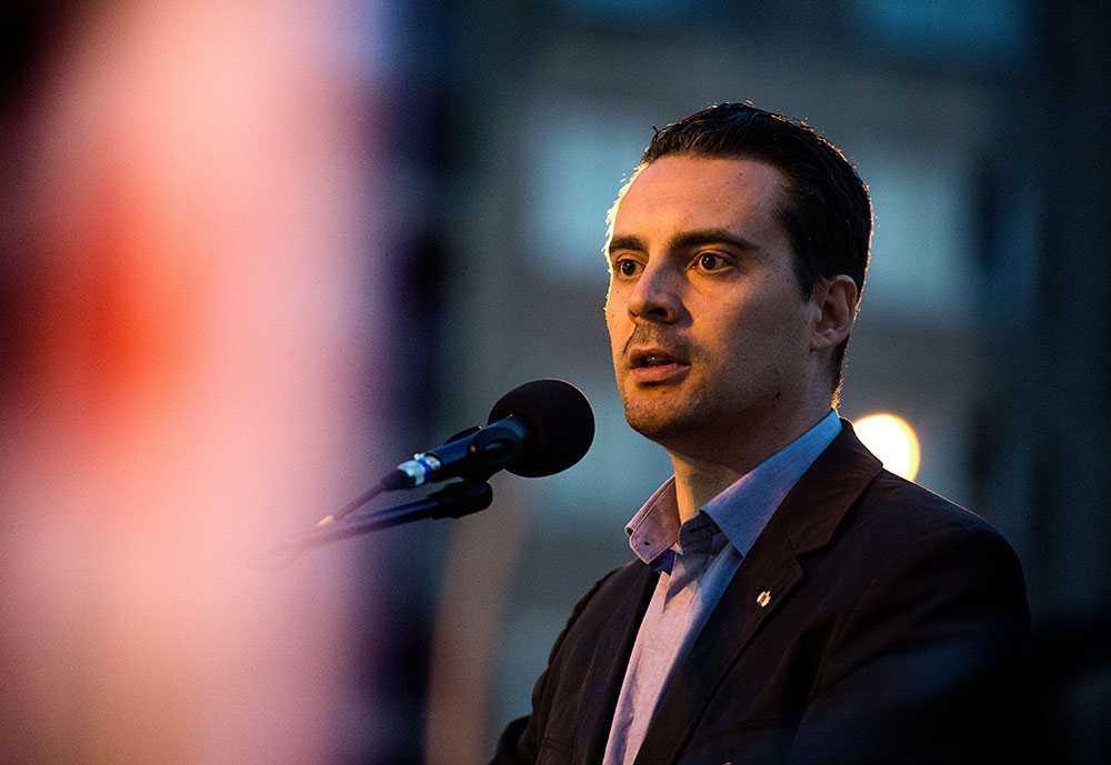 Ledaren. Gabor Vona, Jobbiks ledare.