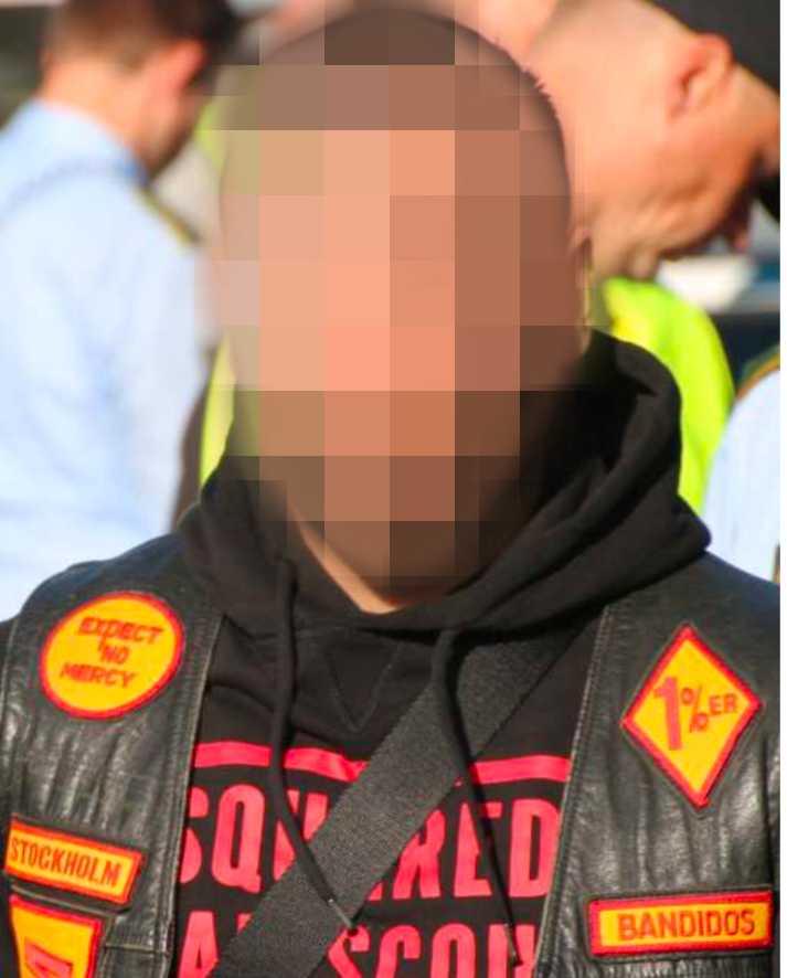Mannen, med en ledande position inom Bandidos, friades av tingsrätten.