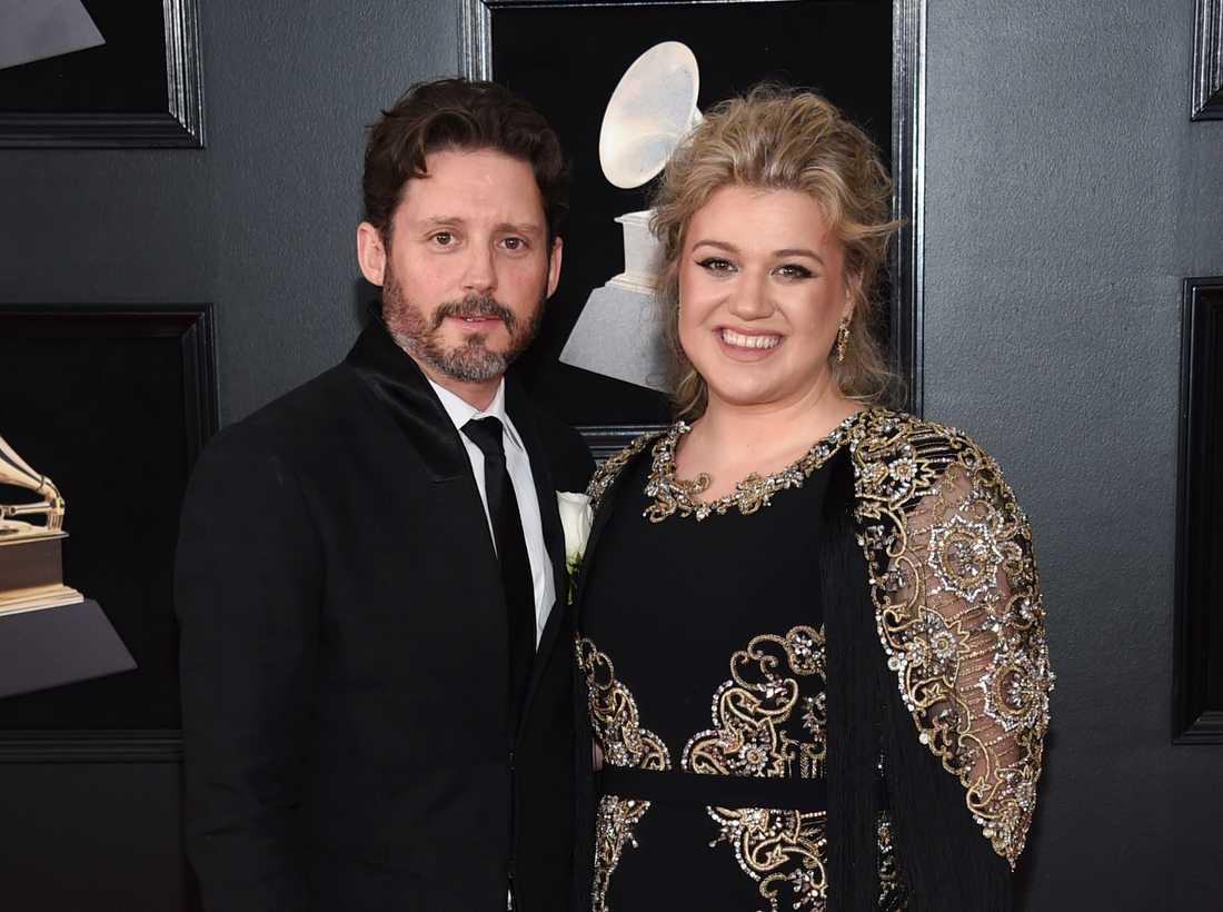 Tidigare makarna Brandon Blackstock och Kelly Clarkson.