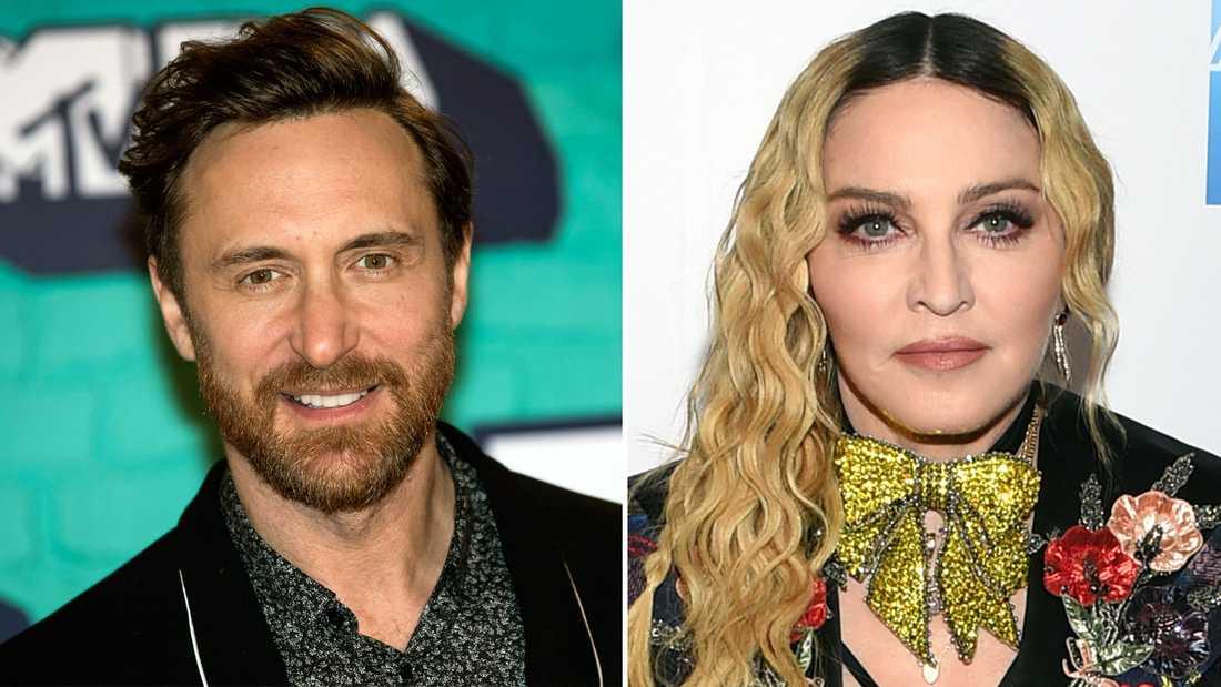 David Guetta fick inte producera Madonnas album.