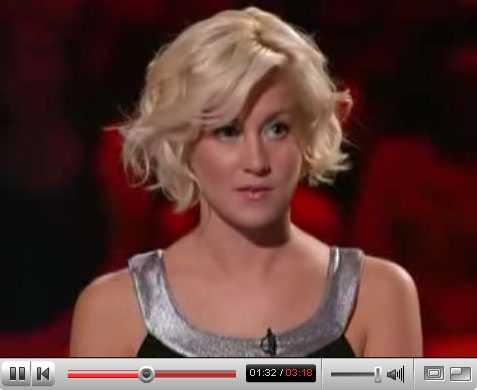 """Chockad """"Ameh, jag trodde Europa var ett land?"""" Klippet med countrysångerskan Kellie Pickler är en superklickis på YouTube."""