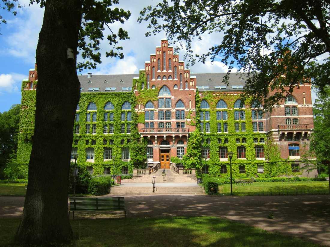 Universitetsbiblioteket i Lund.