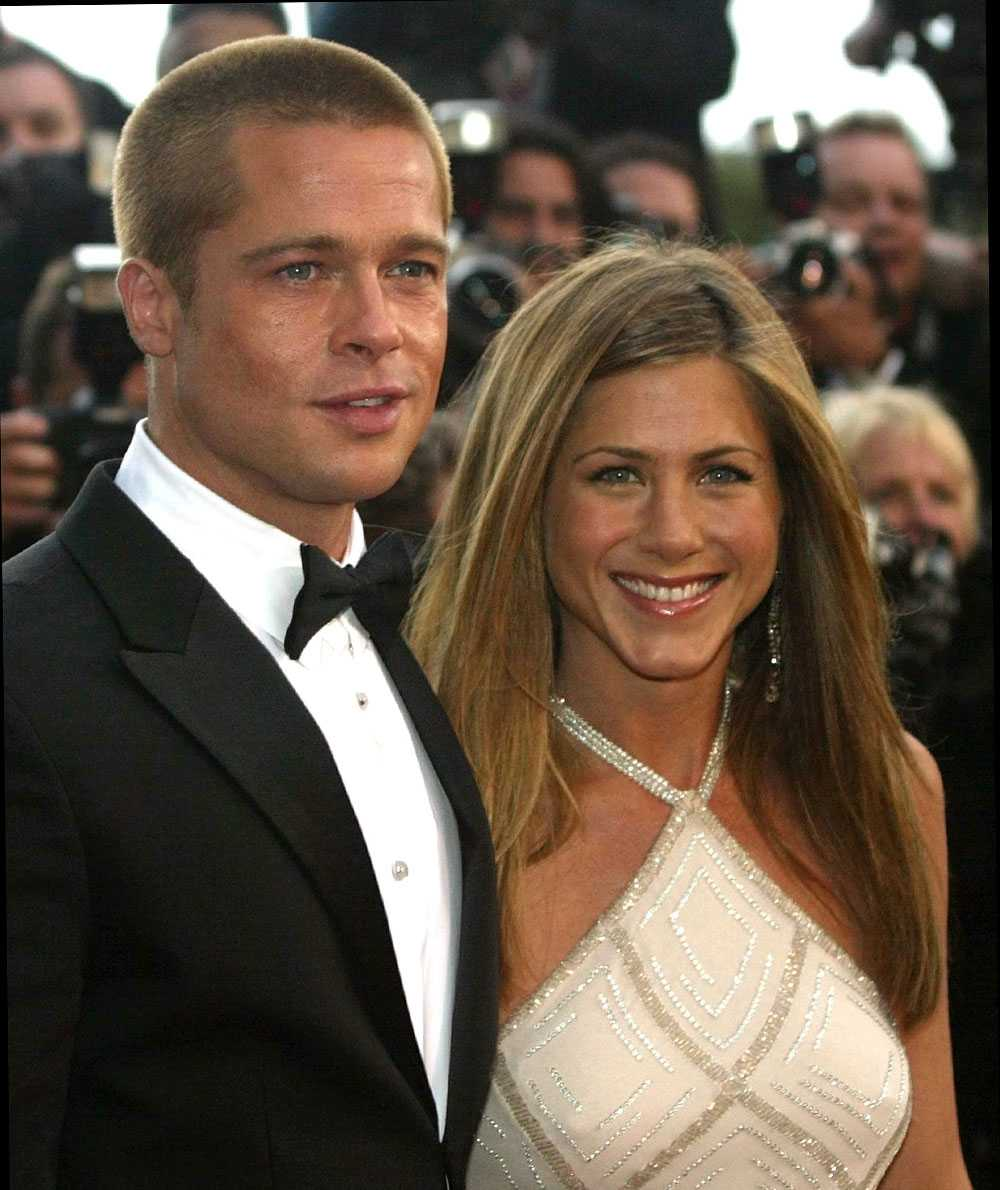 Pitt och Aniston då det begav sig.