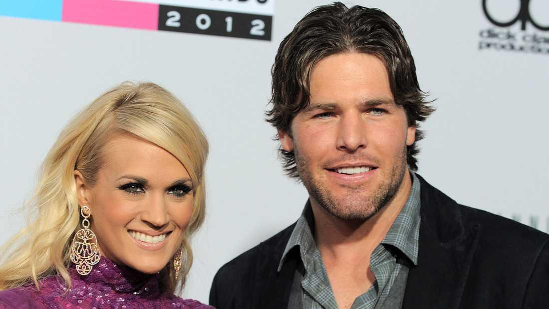 Carrie Underwood och Mike Fisher.