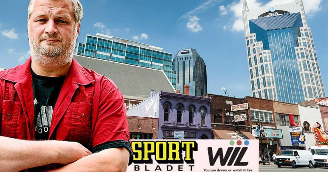 Per Bjurman älskar musik och hockey. Således älskar Per Bjurman Nashville.