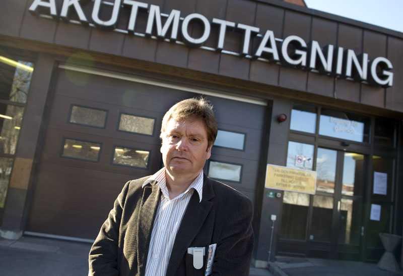 Vårdkonflikten inleds med att akutmottagningen vid S:t Görans sjukhus i Stockholm stängs. Men chefläkare Måns Belfrage är inte oroad över patientsäkerheten på sjukhuset.