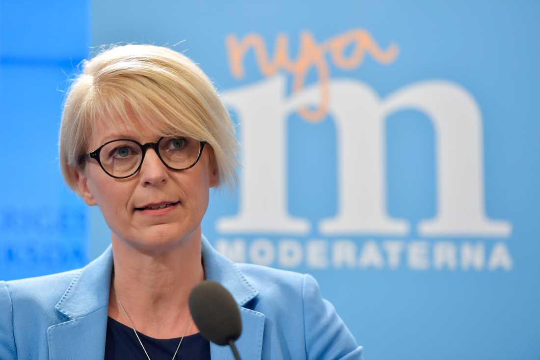 Elisabeth Svantesson, ekonomisk-politisk talesperson för Moderaterna.