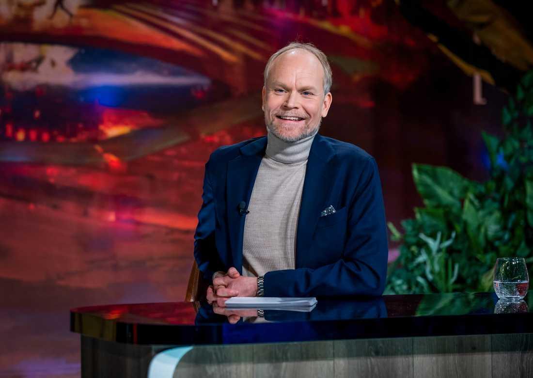"""Kristian Luuk ska vara programledare för det nya underhållningsprogrammet """"Veckans ord"""". Arkivbild."""