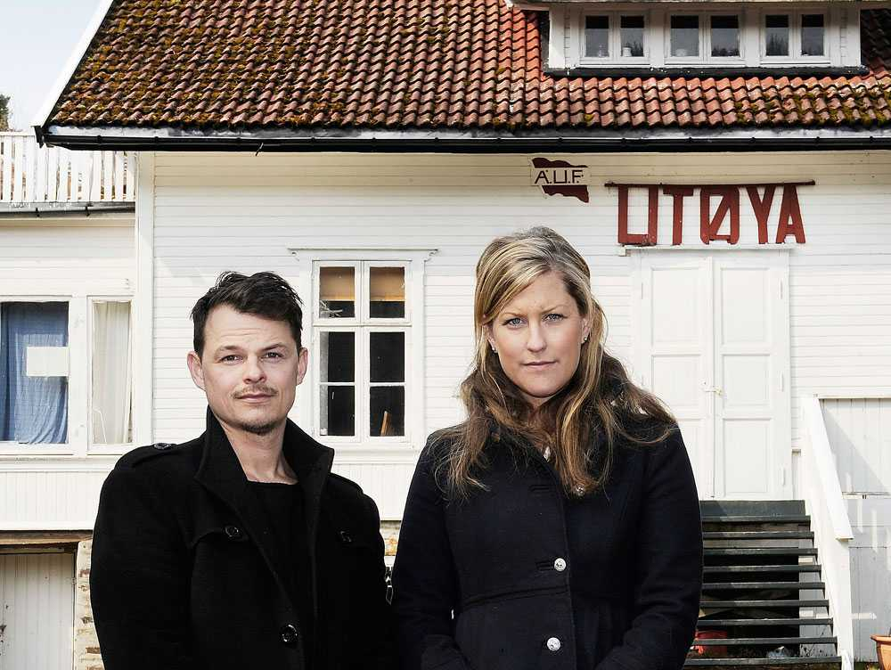 Aftonbladets Peter Wixtröm och Josefin Sköld.