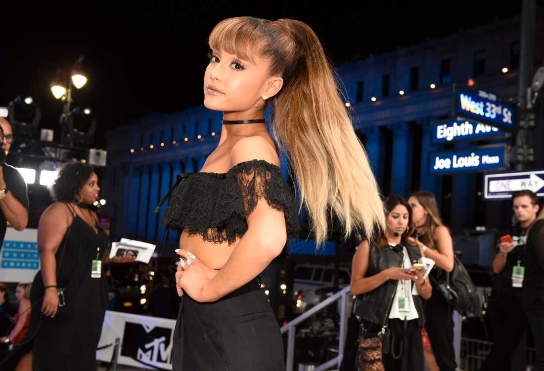Ariana Grande uppträdde på arenan i Manchester under måndagskvällen. Bilden är en arkivbild.