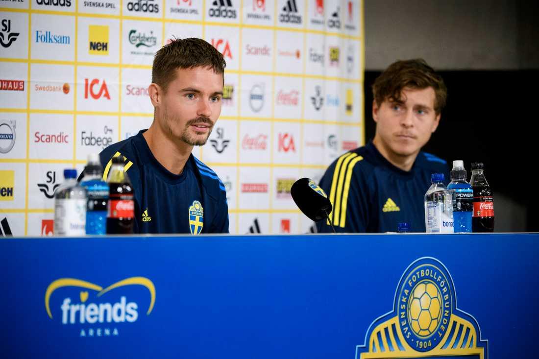 Mikael Lustig och Victor Nilsson Lindelöf.