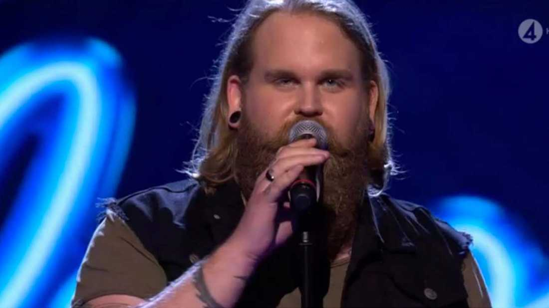 "Christoffer i ""Idol"" 2017, nu som Chris Kläfford."