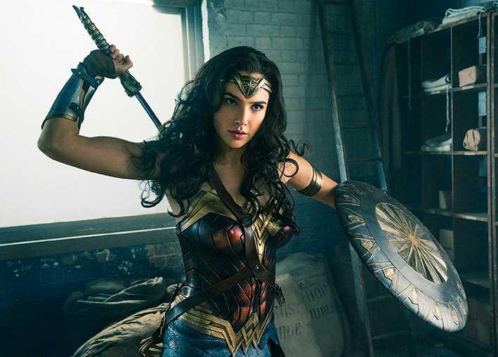 Premiär i dag: Gal Gadot som Wonder woman i nya filmen med samma namn.