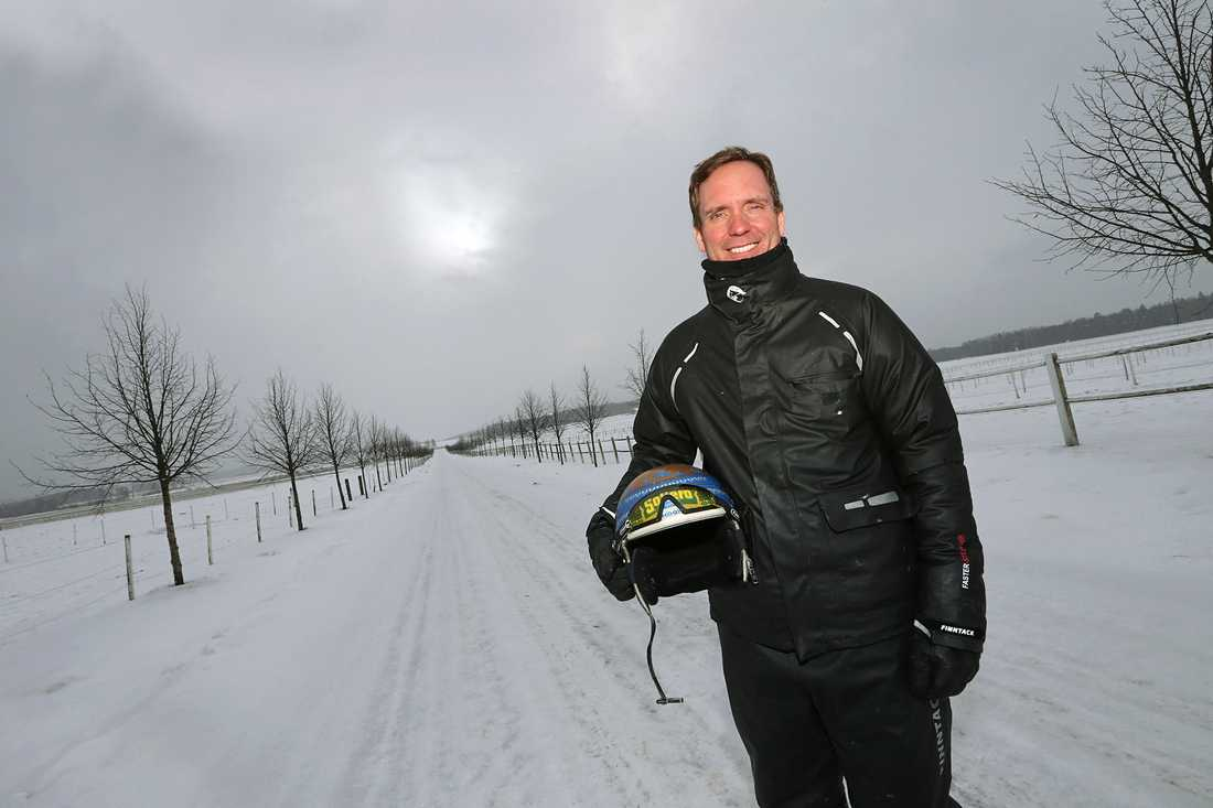 Björn Goop hemma på Lökene Gård.