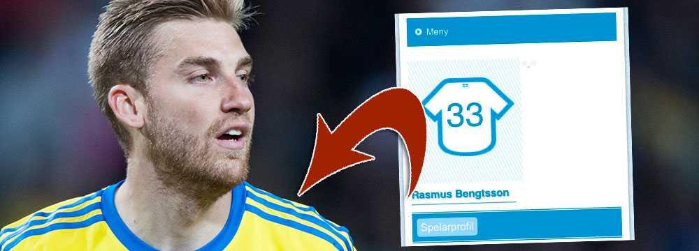 Rasmus Bengtssons spelarprofil ska för en kort stund ha legat uppe på Malmös hemsida i går.